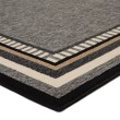 Product Image of Gray, Taupe (BLO-16) Bordered Area Rug