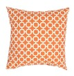 Product Image of Outdoor / Indoor Jaffa Orange, Bright White (VER-49) pillow