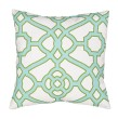 Product Image of Outdoor / Indoor Snow White, Blue Radiance (VER-59) pillow