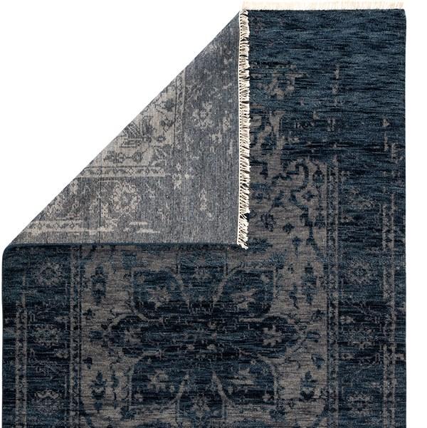 Navy, Black, Grey (LIB06) Transitional Area Rug