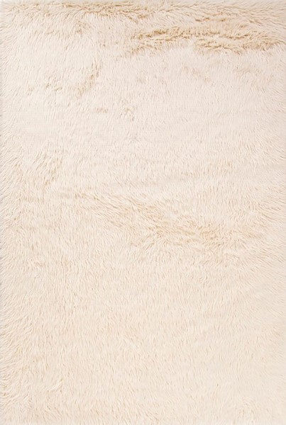 Whisper White (HEO-01) Shag Area Rug
