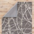 Product Image of Steel Gray, Ivory (HOL-03) Contemporary / Modern Area Rug