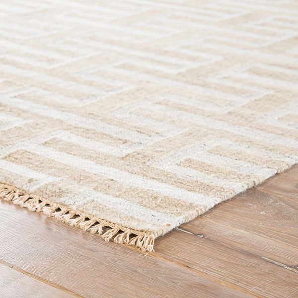Silver Gray, Ivory (PRC-02) Southwestern / Lodge Area Rug