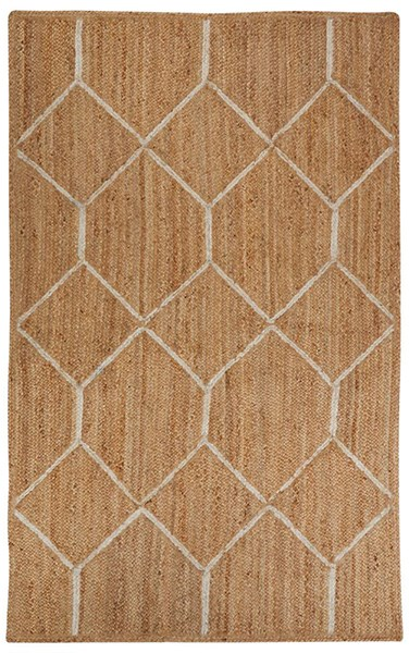 Almond Buff, Ivory (SNK-14) Transitional Area Rug