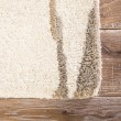 Product Image of Cream, Taupe (TOW-04) Contemporary / Modern Area Rug