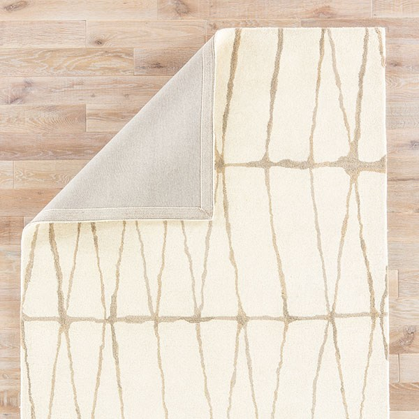 Cream, Taupe (TOW-04) Contemporary / Modern Area Rug