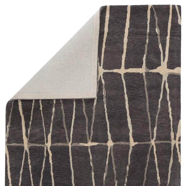 Gray, Cream (TOW-03) Contemporary / Modern Area Rug