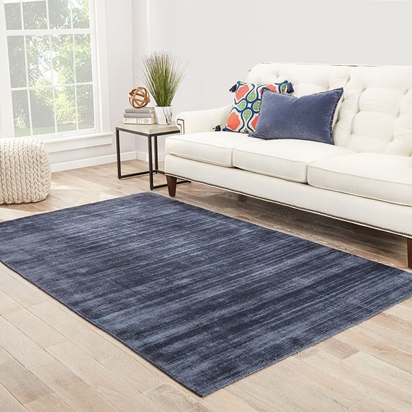 Blue, Gray (YAS-12) Casual Area Rug