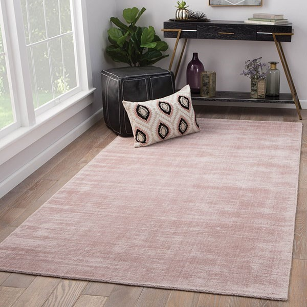 Pink (YAS-15) Contemporary / Modern Area Rug