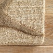 Product Image of Beige, Dark Taupe (COR-25) Beach / Nautical Area Rug