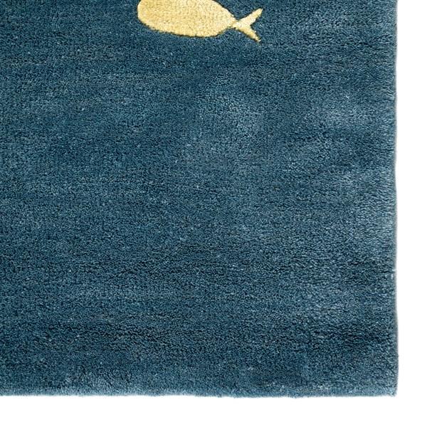 Aegean Blue (COR-01) Beach / Nautical Area Rug
