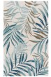 Product Image of Floral / Botanical White, Blue (COR-30) Area Rug