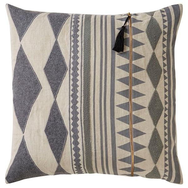 Oatmeal, Gargoyle Transitional pillow
