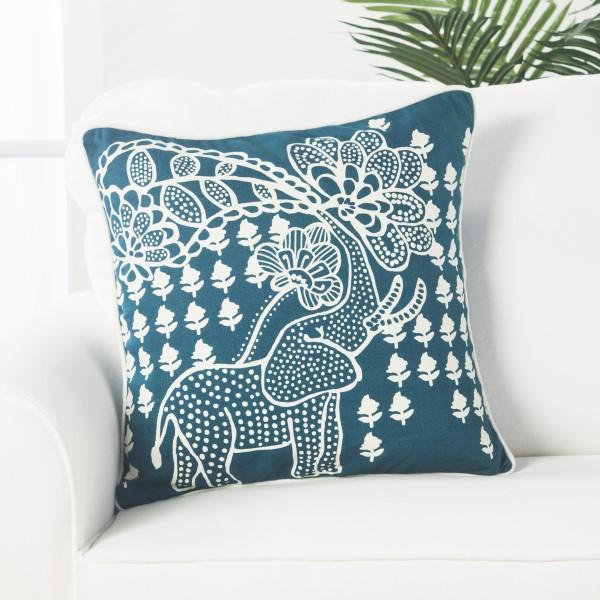 Blue, Cream (LSC-01) Casual pillow