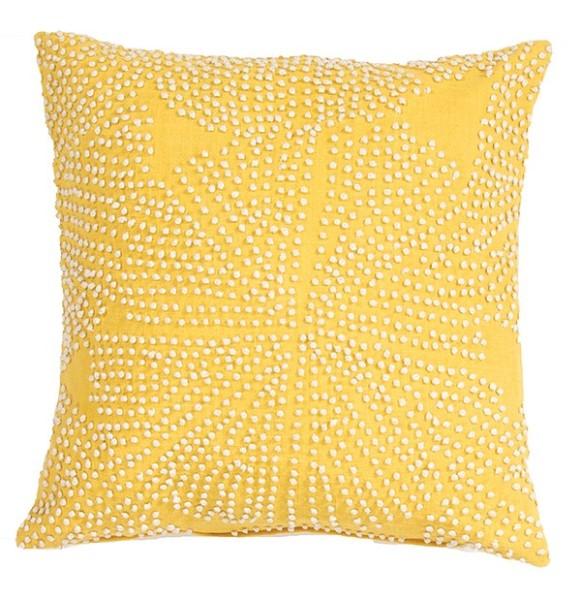 Honey, White Asparagus Contemporary / Modern pillow