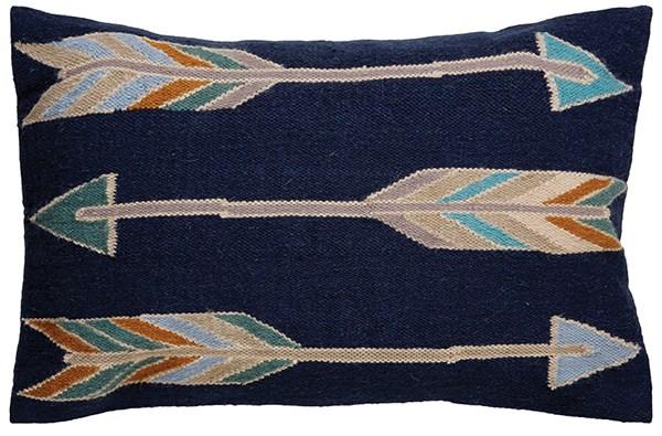 Blue Indigo, Pelican Southwestern / Lodge pillow