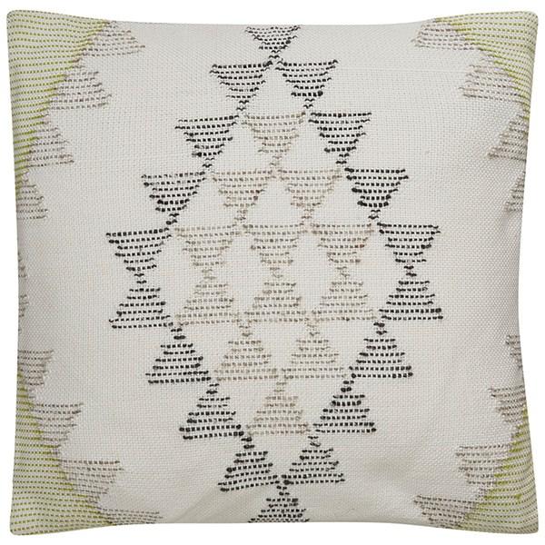 Gardenia, Peat Southwestern / Lodge pillow