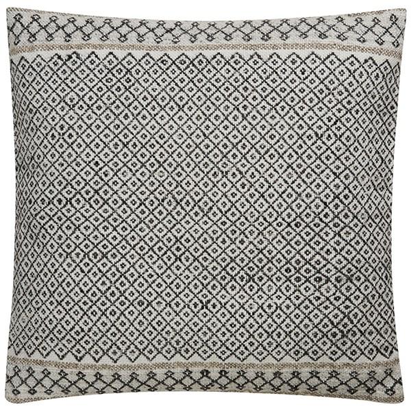Gardenia, Raven Transitional pillow