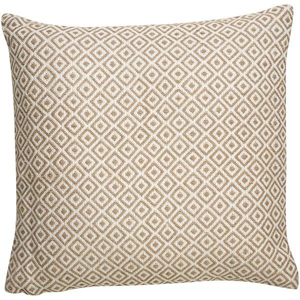 White, Beige Moroccan pillow