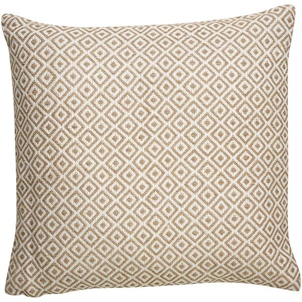 Gardenia, Warm Sand Moroccan pillow