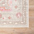 Product Image of Gray, Silver, Blue, Pink (CER-01) Bohemian Area Rug