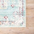 Product Image of Porcelain Green, Chili Pepper, Gray, Blue (CER-02) Bohemian Area Rug