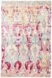 Product Image of Pale Blue, Pink (CER-04) Ikat Area Rug