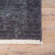 Product Image of Blue, Black (DEN-02) Contemporary / Modern Area Rug