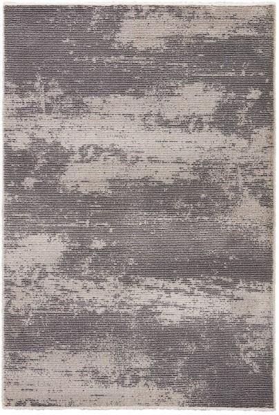 Gray, White (JAD-05) Casual Area Rug