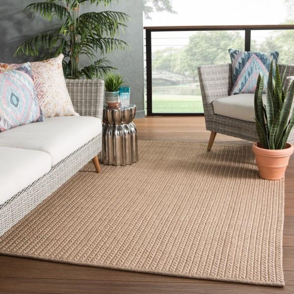 Tan (NIP-03) Outdoor / Indoor Area Rug