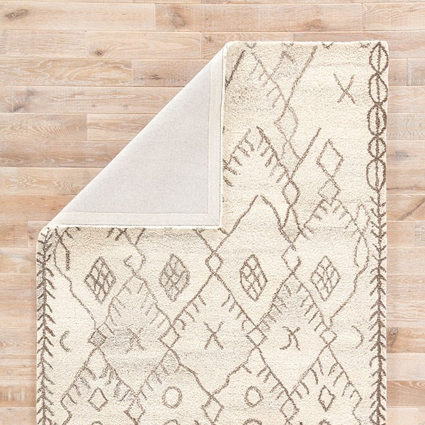 Cream, Chocolate Chip (SAF-02) Southwestern / Lodge Area Rug