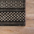 Product Image of Black, Tan (DSH-06) Striped Area Rug
