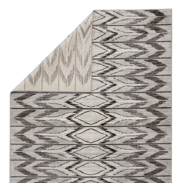 Gray, Brown (GRY-12) Moroccan Area Rug