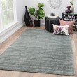 Product Image of Gray, Black (LEF-03) Casual Area Rug