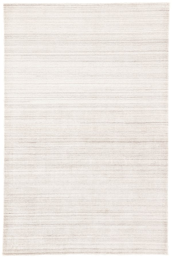 Ivory, Light Gray (LEF-06) Striped Area Rug