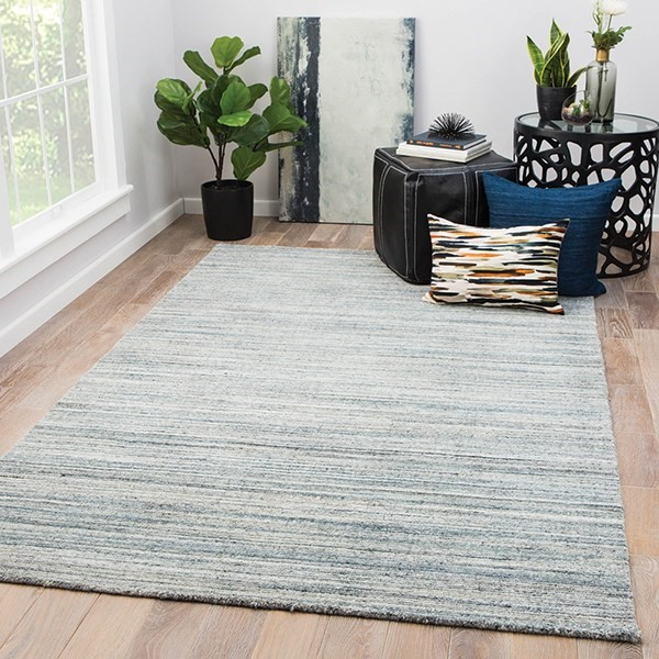 Blue, Gray (MDS-05) Casual Area Rug