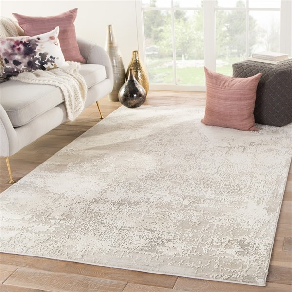 Taupe, Beige, Grey (CIQ-31) Abstract Area Rug