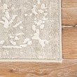 Product Image of Gray, White (CIQ-04) Vintage / Overdyed Area Rug