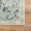 Product Image of Blue, Teal (CIQ-05) Vintage / Overdyed Area Rug