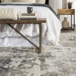 Product Image of White, Gray (CIQ-01) Abstract Area Rug