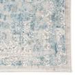 Product Image of Blue, Ivory(CIQ-11) Vintage / Overdyed Area Rug