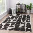 Product Image of Silver, Black (DNC-08) Outdoor / Indoor Area Rug