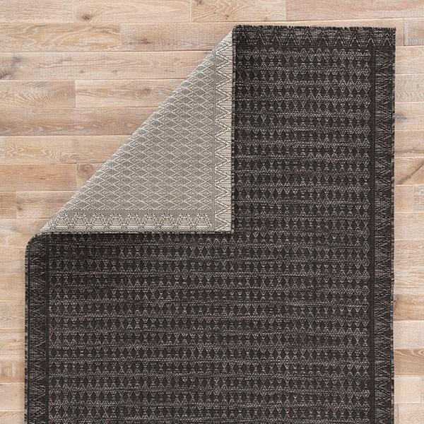 Gray, Black (DNC-11) Outdoor / Indoor Area Rug