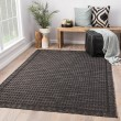 Product Image of Gray, Black (DNC-11) Outdoor / Indoor Area Rug