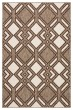 Product Image of Contemporary / Modern Ivory, Brown (DNC-16) Area Rug