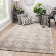 Product Image of Taupe (GES-14) Contemporary / Modern Area Rug