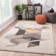 Product Image of Light Gray (GES-01) Geometric Area Rug