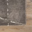 Product Image of Dark Gray, Silver (GES-13) Contemporary / Modern Area Rug