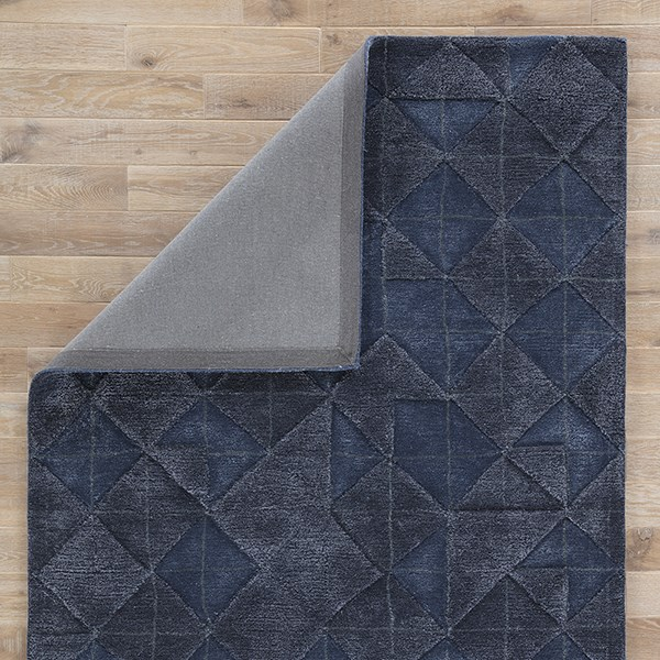 Dark Blue (GES-04) Geometric Area Rug