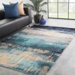 Product Image of Blue, Gray (GES-27) Abstract Area Rug